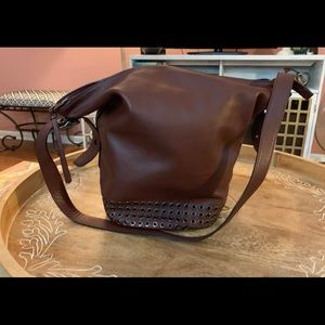 Coach Bags - Coach Bleecker Large Leather Grommet Duffle